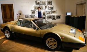 Gold 1977 Ferrari 512 Berlinetta Boxer