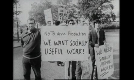 A group of skilled engineers fighting to save their livelihoods at Lucas Aerospace UK in the 1970s.