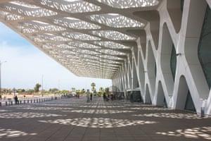 Marrakech Menara airport, Moroccod