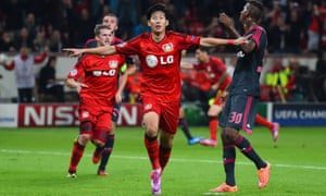 Son Heung-min scored 29 goals in 87 appearances for Bayer Leverkusen – an impressive return for a wide attacker.