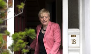 Angela Eagle, the former shadow business secretary.