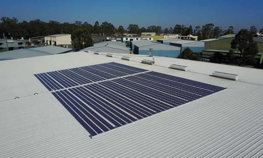 the panels are similar in texture to a potato chip packet and can be produced for less than $10 per square metre