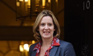 New Home Secretary Amber Rudd.