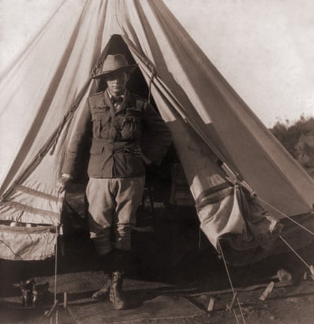 Churchill as a reporter for the Morning Post during the Boer war.