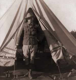 Winston Churchill as a reporter for the Morning Post during the Boer war.