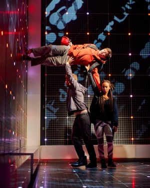 Melbourne Theatre Company's adaption of The Curious Incident of the Dog in the Night-time.