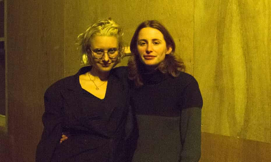 'We kept going back and ended up in the Edwardian period' … Hannah Quinlan and Rosie Hastings.