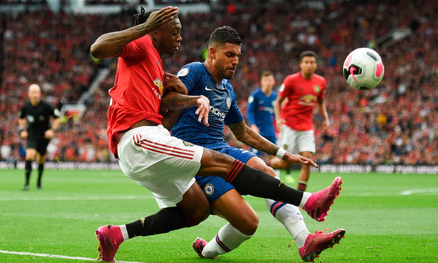 Aaron Wan-Bissaka is quick to make an impression at Manchester United