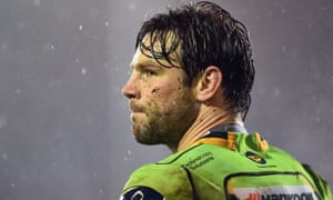 Ben Foden pictured during Northampton's match against Bath in March.