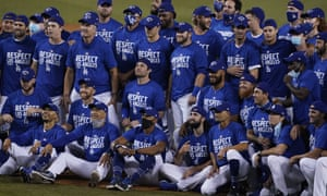The LA Dodgers have the best win-loss record in the major leagues this season but MLB's expanded, 16-team postseason renders it all but meaningless.