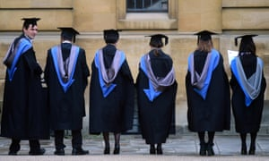 Graduates outside the Sheldonian Theatre, Oxford