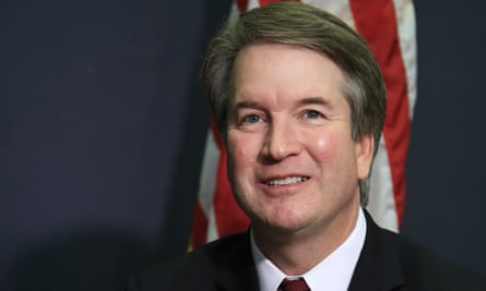 Supreme court nominee Brett Kavanaugh. The Senate judiciary committee was notified of the decision to withhold documents on Friday.