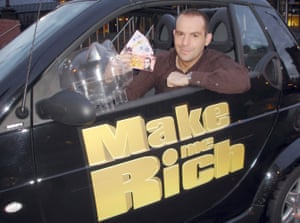Martin Lewis presenting the ITV daytime show Make Me Rich in 2005