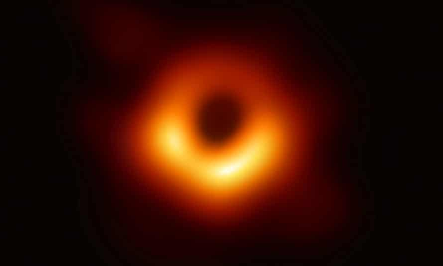 The first-ever photo of a black hole