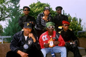 Public Enemy at the Montreux Festival in Switzerland, 1988.