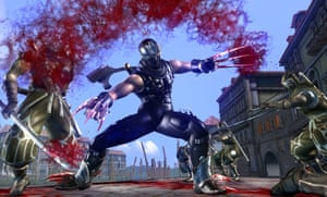 Ninja Gaiden II – not what you'd call a casual game