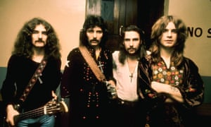 Geezer Butler, Tony Iommi, Bill Ward and Ozzy Osbourne in the 70s.