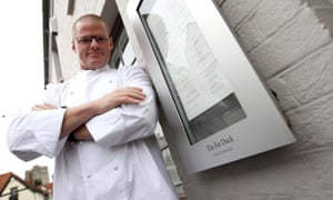 Heston Blumenthal pictured outside The Fat Duck in 2009.