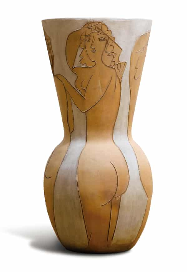 The Grand Vase aux Femmes Nues is estimated to fetch up £350,000.