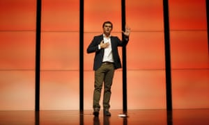 Ciudadanos's leader Albert Rivera speaking at an election campaign rally in Malaga, southern Spain.