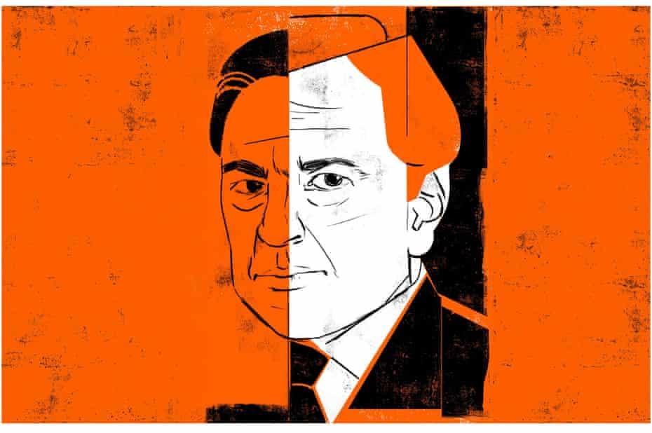 'A tremendous hater' … Gore Vidal. Illustration by Edel Rodriguez for Review