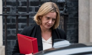 Amber Rudd has claimed she did not set, see or approve any targets for removals.