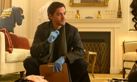 Malcolm Bright (Tom Payne) in The Prodigal Son.