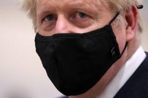 Speak no evil. Boris Johnson.