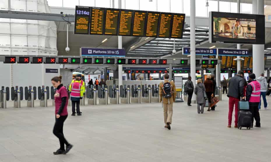 London Bridge station.