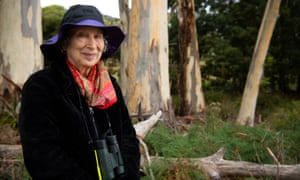 Margaret Atwood on a Bruny Island trip