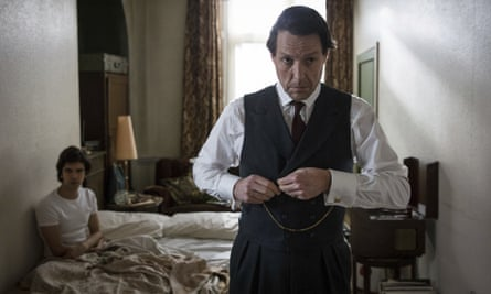 Ben Whishaw, left, won a Golden Globe for his role opposite Hugh Grant in A Very English Scandal.