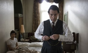 Hugh Grand and Ben Whishaw in A Very English Scandal.