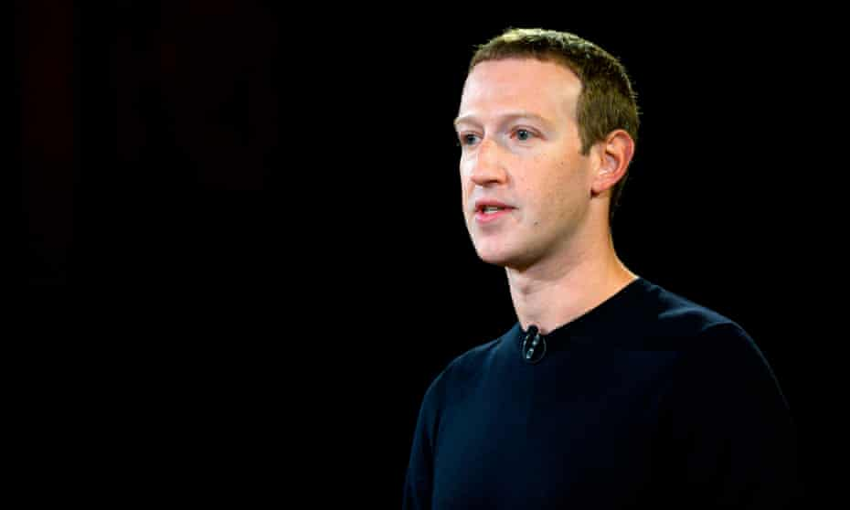 Mark Zuckerberg, the Facebook CEO, held a conference call with reporters to discuss how the company is preparing for US elections.