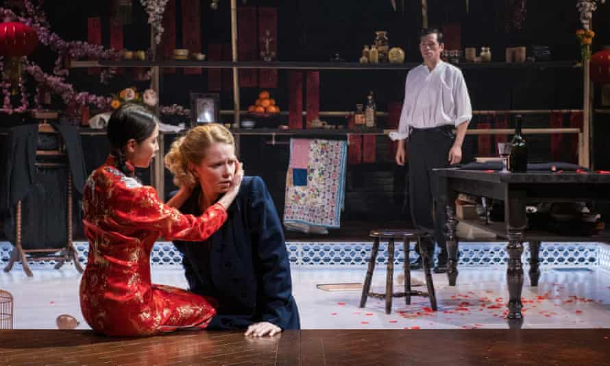 Not seduced … Sophie Robinson in Miss Julie.