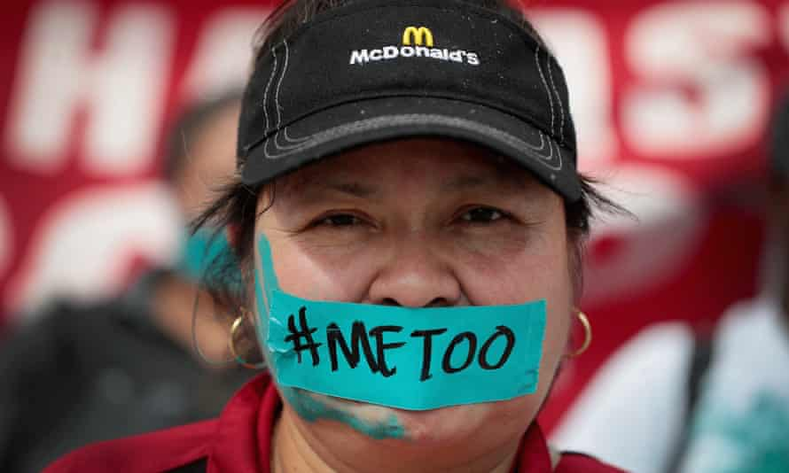 In September last year, McDonald's workers marched to the company's headquarters to protest sexual harassment at the fast food chain's restaurants. According to a recent study 40% of female fast food workers experience unwanted sexual behavior on the job.