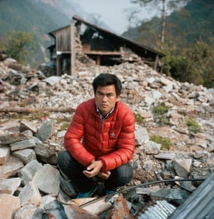 Chandra Ghale, a 32-year-old construction worker
