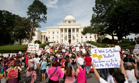 The Handmaid's Tale comes to life in Alabama. Women must heed the warning