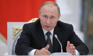 Vladimir Putin has described the ban on Russia's track and field athletes as 'unjust and unfair'.