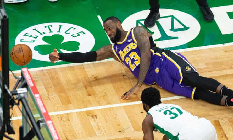 Los Angeles Lakers star LeBron James has been a long-time figure on the Boston sports scene, but mostly as an enemy.