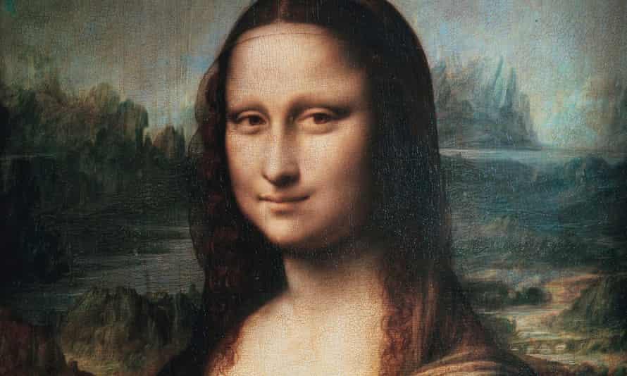The smile of Lisa … Leonardo da Vinci's Mona Lisa.
