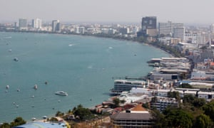 Pattaya resort, Thailand. Police are seeking help to identify the dead man.