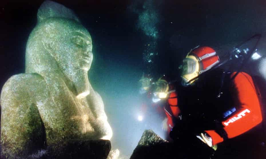 Submerged Thonis-Heracleion