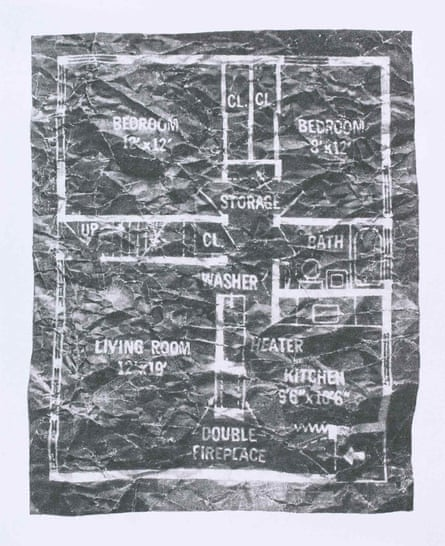 Levittown Rancher Floor Plan 4 July by Richard Forster.