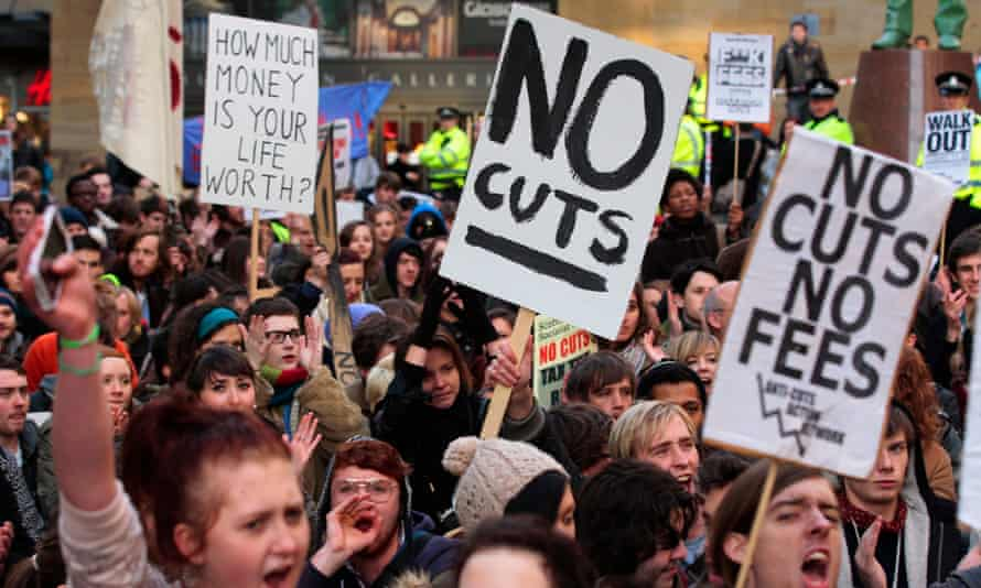The tripling of tuition fees in 2010 inspired large student protests. Academic staff must now follow suit to fight for their employment rights.