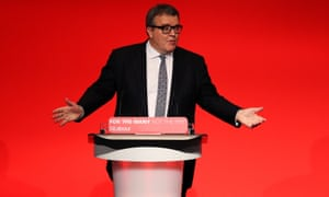 Tom Watson speaks at the Labour Party Conference