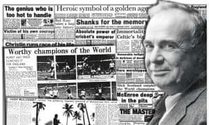 Former Observer Sport correspondent Hugh McIlvanney