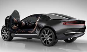 Aston Martin's new DBX model
