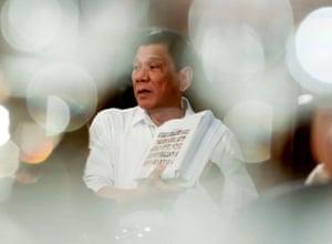 Manila, Philippines: President Rodrigo Duterte
