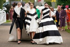 Monochrome fashion on day 3