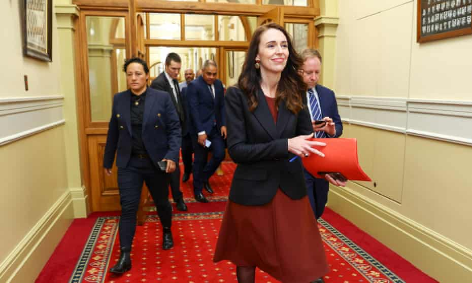 Jacinda Ardern has unveiled her new cabinet